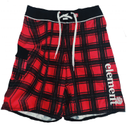 Maillot de Bain Element: Checkered RD/BK