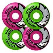 Roues Spitfire: Bighead Classic Mashup Pink/Green (54 mm)