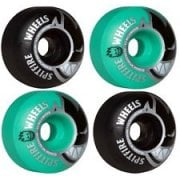 Roues Spitfire: Bighead Classic Mashup Black/Teal (52 mm)