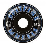 Roues Spitfire: Old English Black (53 mm)