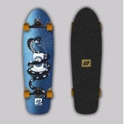 Complete Surfskate Hydroponic: Polar Metal Tattoo Surf Skate 31 x 9
