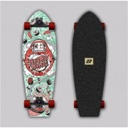 Complete Surfskate Hydroponic: Trento Sushi Surf Skate 28 x 9