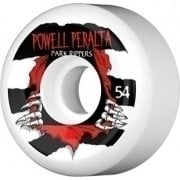 Roues Powell Peralta: Park Ripper White (54 mm)