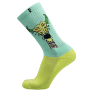 Chaussettes Psockadelic: Tuner Teal Lime GN