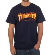 T-Shirt Thrasher: Flame Logo NV