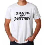 T-Shirt Thrasher: Skate and Destroy WH