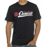 T-Shirt Element: Signature SS Flint BK
