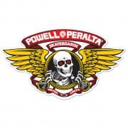 Autocollant Powell Peralta: Winged Ripper Red