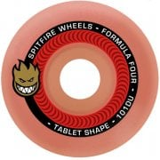 Roues Spitfire: F4 101 Tablet Aurora-Red (52 mm)