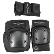 Pack de Protecteurs Pro-Tec: Street Gear Junior 3 Pack Black
