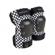 Coudières Pro-Tec: Junior Elbow Pad Checker BK/WH