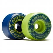Roues Spitfire: F4 99 Navy / Lime Mashup CNCL Full (56mm)
