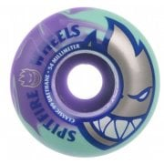 Roues Spitfire: Bighead 99D Teal/Purple Swirls (52mm)