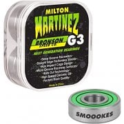 Roulements Bronson Speed Co: G3 Milton Martinez