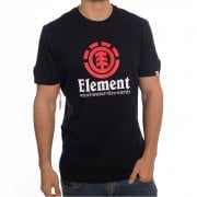 T-Shirt Element: Vertical SS Flint BK