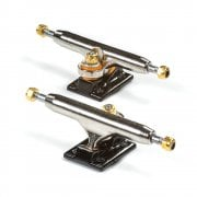 Blackriver Fingerboards Trucks: Wide 2.0 Silver/Black 32