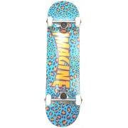 Imagine Skateboards Skate Complet Imagine: Leopard Blue/Orange 8.0