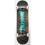 Imagine Skateboards Skate Complet Imagine: Leopard Brown/Blue 8.0