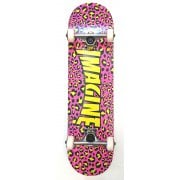 Imagine Skateboards Skate Complet Imagine: Leopard Pink/Yellow 8.0