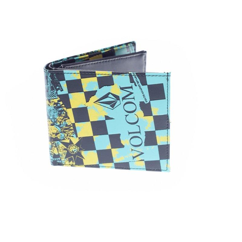 styles classiques Style classique une performance supérieure Portefeuille Volcom: Extreme Wallet S GN/YL
