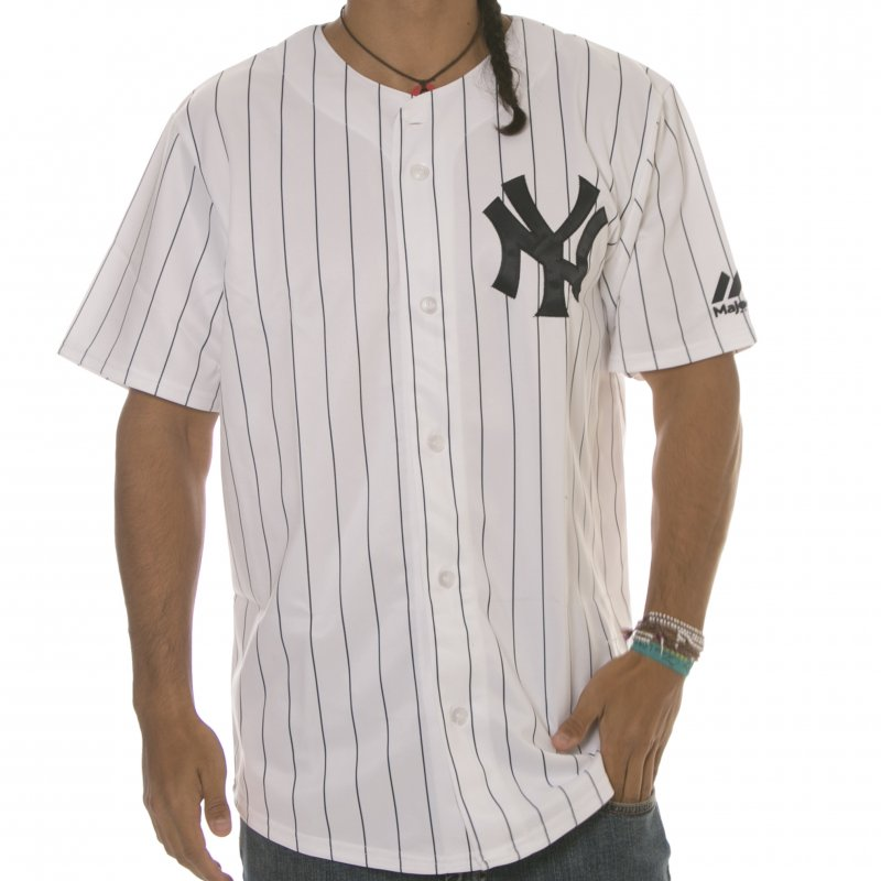 Excellente qualité style moderne comment commander Chemise MLB Majestic: New York Yankees WH