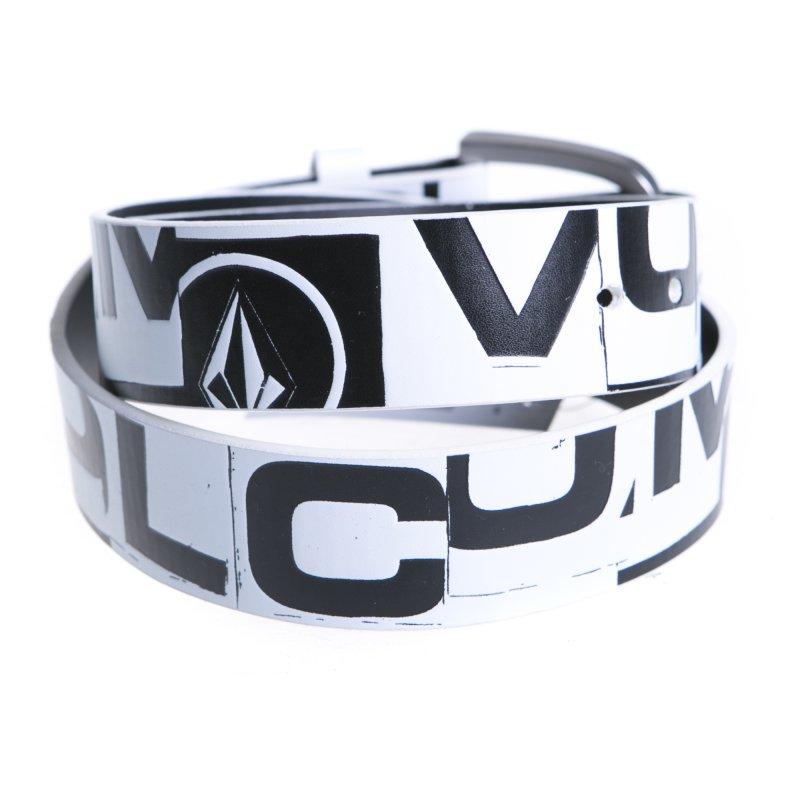 grossiste 65863 8c76a Ceinture Volcom: Loco Belt White WH